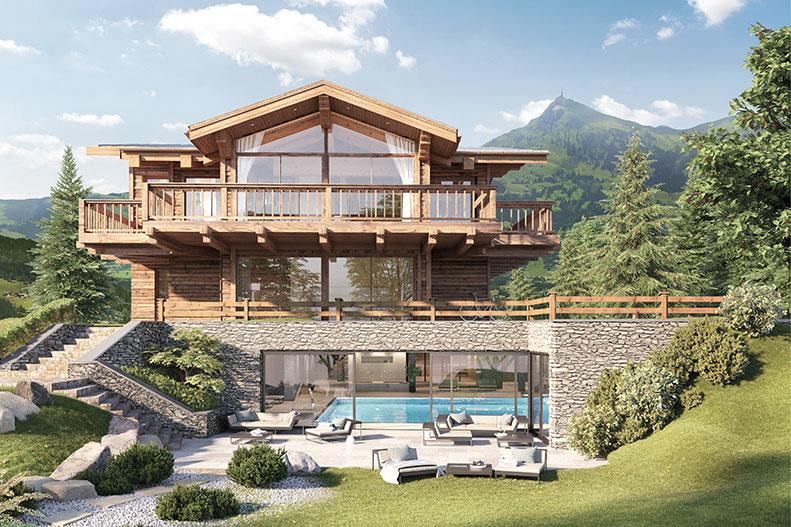 Kitzb hel m concept real estate for Modernes tirolerhaus